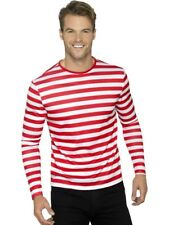 Striped Red and White T-Shirt for Halloween Large 42/44