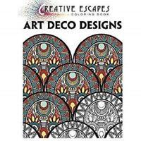 Creative Escapes Coloring Book: Art Deco Designs, Publishing, Racehorse