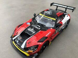 "Carrera Digital 132 30846 Mercerdes-AMG GT3 "" Akka, ASP...LICHT Karosse+Chassis"