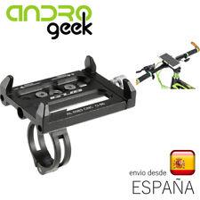 Soporte aluminio de manillar para movil smartphone para bicicleta.ORDINARIO