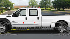 1999-2016 Ford F-250/F-350/Super Duty Crew Cab Flat Body Side Molding 4Pc 2""