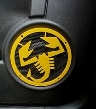 Abarth 595 Scorpion Speaker Cover Multiple Colours Available