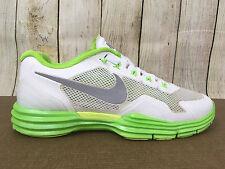 Nike Lunar TR1 Men's Running Shoes Sz 10 Summit White Green 529169-100 F2(5