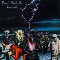BLACK SABBATH Live Evil BANNER HUGE 4X4 Ft Fabric Poster Tapestry Flag album art