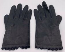 Vintage Leather Women's Gloves Driving Gloves Size 7 silk lined