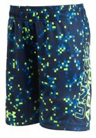 NWT UNDER ARMOUR BOYS SHORTS SIZE 24 MONTHS BLUE PIXEL/DIGITAL PATTERN MSRP $20