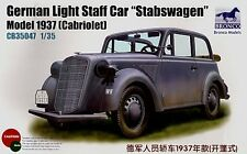 Bronco 1/35 Opel Light Staff Car Cabriolet Stabswagen # CB35047