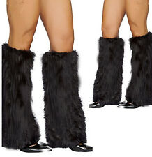 Winter Faux Fur Rave Christmas Fluffies Leg Warmers Furry Boot XMAS HOT Covers