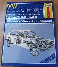 Haynes (335) VW Polo Owner's Workshop Manual 1976 - 1982