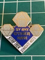 Classic Star Trek TV Series 51st Aired Episode By Any Other Name Logo Metal Pin