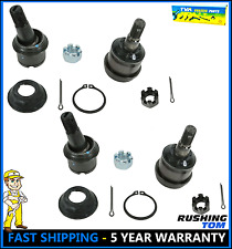 Set of 4 Upper & Lower Ball Joints For Dodge Ram 1500 2500 3500 4X4 4WD 04-11