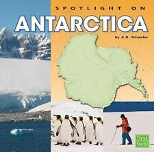 Spotlight on Antarctica (First Facts)-ExLibrary