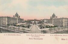 AK. Wien I. - K. K.Hofburg Musen Maria Theresienplatz um 1910 ohne Marke/Stempel