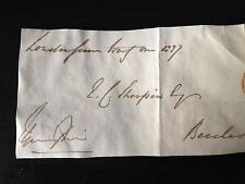 THOMAS SPRING RICE - CHANCELLOR OF THE EXCHEQUER - SIGNED ENVELOPE FRONT