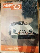 Zeitschrift Magazin Das Auto Motor und Sport Heft 16 3.August 1957 VW Achtsitzer