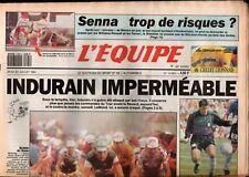 ▬►Journal L'ÉQUIPE 25 Juillet 1991 TOUR DE FRANCE BOURG OISANS-MARZINE INDURAIN