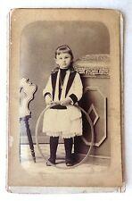 CDV PHOTO COLLIN SABLES D'OLLONE  ENFANT FILLE HENRIETTE O121