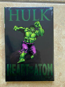 MARVEL PREMIERE CLASSIC HARDCOVER GN INCREDIBLE HULK - HEART OF THE ATOM  Sealed