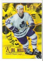 1995-96 SELECT CERTIFIED KIRK MULLER MIRROR GOLD
