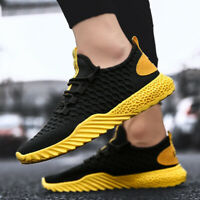 Men's Fashion Casual Shoes Ultralight Sports Sneakers Athletic Leisure Running