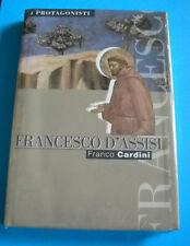 FRANCESCO D'ASSISI - F. CARDINI I PROTAGONISTI FAMIGLIA CRISTIANA - BLISTERATO