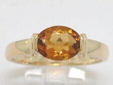 Citrin Ring 585 Gelbgold 14Kt Gold mit natürlichem Citrin