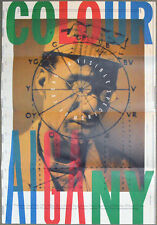 1991 Michael Mabry AN EVENING OF COLOR Marc Jacobs AIGA PROMOTIONAL 24x34 Poster