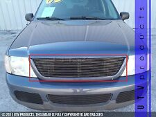 GTG 2002 - 2005 Ford Explorer 1PC Gloss Black Upper Replacement Billet Grille