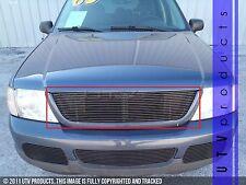 GTG 2002 - 2005 Ford Explorer 1PC Gloss Black Upper Replacement Billet Grille