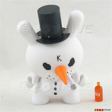 Kidrobot Dunny 2011 Holiday Crusty snowman by Frank Kozik 3-inch loose figure