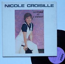 """LP Nicole Croisille  """"La femme et l'enfant"""""""