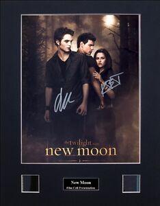 Twilight Saga - New Moon Signed by 2 Photo Film Cell Presentation