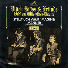 "BLÄCK FÖÖSS & FRÜNDE -BAP - Stellt üch vüür ,Imagine=Beatles CV> 7""Vinyl Single"