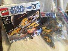 Star Wars Lego Anakin's Jedi Starfighter 7669 la edad de 7 a 12 incl Anakin Minifigura