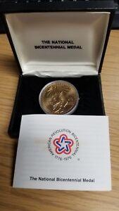 US Mint Bicentennial Medal 1776-1976 Statue of Liberty Bronze Version