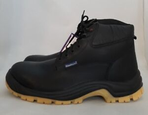 Himalayan Black Full Grain Boot With Deep Padded Colar Working Boots Size 12
