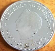 Nederland Zilveren 10 Gulden 1970
