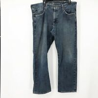 Eddie Bauer Mens Blue Stretch High Rise Straight Leg Denim Jeans Size 38X30