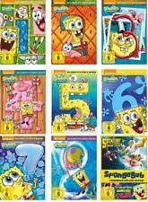 28 DVDs * SPONGEBOB SCHWAMMKOPF - SEASON 1-8 + KINOFILME (1+2) IM SET # NEU OVP+