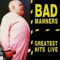 BAD MANNERS - GREATEST HITS LIVE (New & Sealed) CD Ska Punk