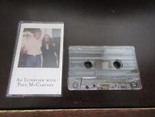 Julia Baird Interview with Paul McCartney UK Signed Cassette Tape Beatles Lennon