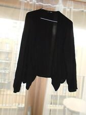 Wallis size medium black cardigan