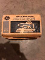 Vintage GE Travel Spray Steam & Dry Iron