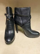 Tory Burch Dorese Black Leather Booties Boots Size 9 New $425
