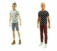 New Listing2 Barbie Fashionistas Ken Dolls Cactus Cooler Fjf74 and Black and White Fjf72