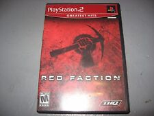 Red Faction PS2 Playstation 2 Game