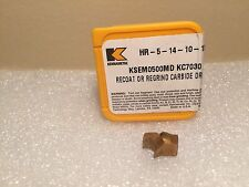 "Kennametal KSEM 0.500"" 12.70MM MD KC7030 Modular Drill INSERT Carbide"