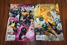 X-Men Secret Invasion Set #2 & 4 VF- 7.5 2009 Marvel See my store