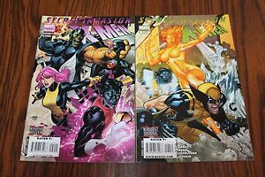 X-Men Secret Invasion Set #2 & 4 VF- 7.5 2009 Marvel See my store