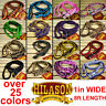 U-REIN HILASON BRAIDED POLY BARREL HORSE RACING REINS FLAT W/ EASY GRIP KNOTS 1""